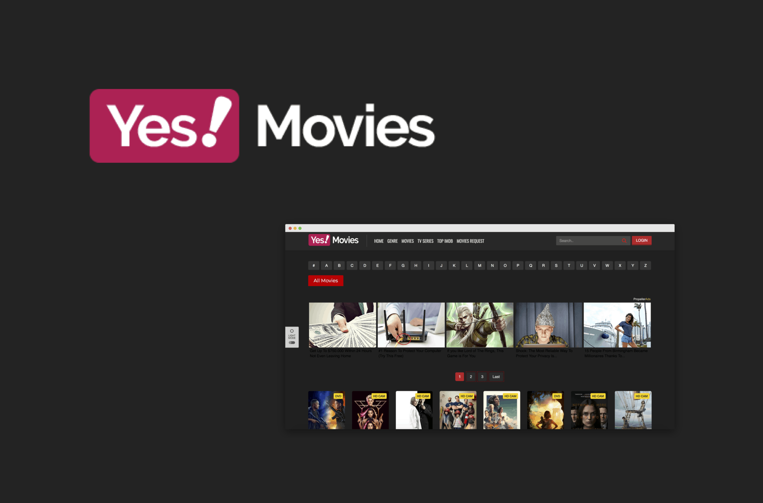 What Are The Best Alternative Sites for YesMovies?